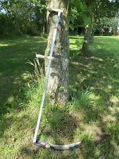 Turk Large Grass Scythe Alpine Alloy Snaith 1.5m Long & 55cm Blade Light Weight