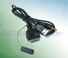 Audio input&Charge Cable for 2013 2014 Mazda2 Mazda3 5 to iPhone iPod Dock SH51