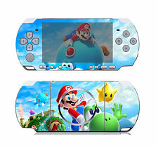 Super Mario Galaxy 114 Vinyl Decal Skin Sticker Cover for Sony PSP 3000