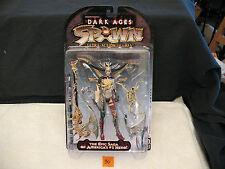 SPAWN Dark Ages Skull Queen Silver Maroon Green New 1998 Series 11 McFarlane