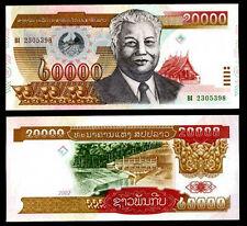 LAOS LAO 20000 20,000 KIP 2002 P 36 UNC