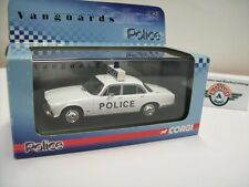 "Jaguar xj6 ""Police"" 1970, blanc, VANGUARDS 1:43, NEUF dans sa boîte"