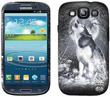 Espiral directo Lobo Blanco Samsung Galaxy S3/siii teléfono Estuche/cubierta howling/tattoo
