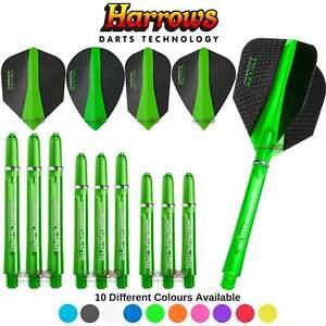 Harrows Retina Test Combo Pack   Dart Flights   Dart Shafts   Darts Accessories