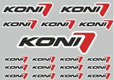 KONI Suspension Decal Set Quality Sticker Vinyl Graphic Logo Adhesive Kit 18 Pcs