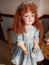 """ANTIQUE ARMAND MARSEILLE A BEAUTIFUL 27"""" DOLL 390 DRGM 246 A11M MADE IN GERMANY"""