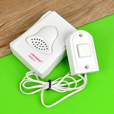 Doorbell Home White Cable Cord School Hospital Laboratory Door Bell Ring E2U