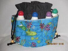 "Bingo Bag - Tote Bag- FROGS  ""Spring Again"" How cute is this....."