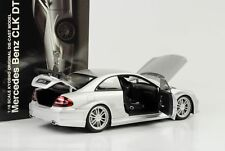 1 18 Kyosho Mercedes CLK DTM AMG Coupe Silver
