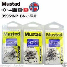 Bulk 3 Pack Mustad Demon Circle Hooks Size 2 - 39951NPBLN Chemically Sharpened