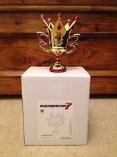 Extremely Rare! Nintendo Mario Kart 7 Special M Cup Trophy Figurine Statue