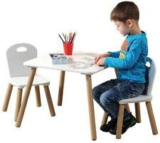Kindertisch+2 Stühle Spieltisch Kinderstuhl Spielzimmertisch Kinderzimmertisch