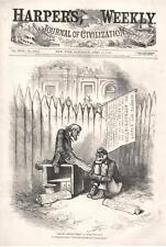 History Repeats Itself - A Little Too Soon -  Uncle Sam  - Thomas Nast - 1879