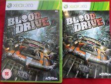 BLOOD DRIVE XBOX 360 (XBOX ONE A VOIR)