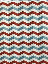 Lars Contzen 3D zigzag Wallpaper Red Blue Funky Modern Vinyl Washable Ethno Funk