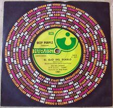 "DEEP PURPLE 7"" Demon's Eye / Fireball SOUTHAMERICA Pressing 1971 Spanish Titles"