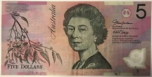 AUSTRALIE - 5 DOLLARS - Type Elisabeth - Billet de banque (TTB)
