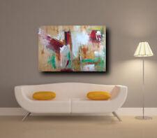 quadro astratto  fatto a mano  ad olio su tela  artista Sauro Bos 120x80