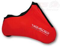 Faltgarage Highsider Indoor-Abdeckplane Spandex XL rot indoor motorcycle cover M