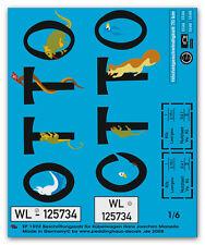 Peddinghaus 1/6 1592 VW Coche CUBA Etiquetas de H. J. MARSEILLE