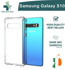 Samsung Galaxy S10 Case Cover ShockProof Soft Phone Clear TPU Silicone Cover