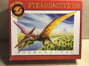 Pterodactyl Dinosaur Floor Puzzle Glow in the Dark 63 Pc Kids 4+ Skeleton Glow