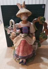 """New ListingFitz and Floyd """"Old World Rabbits� teapot retired and rare"""
