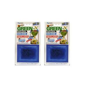 Hagen Green-X Phosphate Remover 4g (was Phos-X) 2 pack BUNDLE *GENUINE*