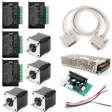 Cnc Kit 4 Axis Breakout Board Amp Nema17 Stepper Motor For Diy Routermillplasma