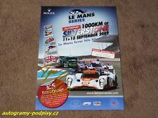 Tomas ENGE - original AG, 2009 Lola 1000 km Silverstone, Karte/card 15x21