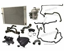 NEW BMW E60 528i Radiator Water Pump Hoses Thermostat Expansion Tank Cooling Kit
