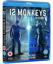 12 Monkeys - Season 2 [Blu-ray] [Season Two] [3 Discs] [Region Free] ✔NEW✔