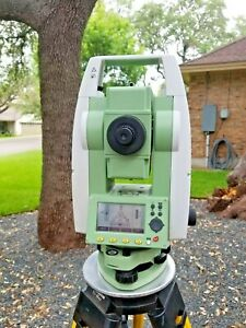 "Leica TS02 7"" Conventional Surveying Total Station"