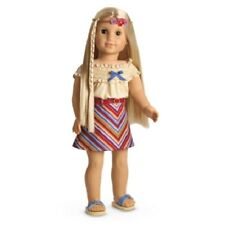 American Girl Julie SUMMER SKIRT SET top miniskirt sandles headband  NO DOLL