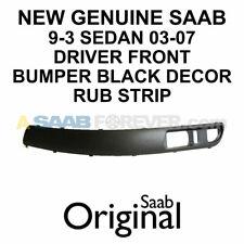 New Genuine Saab 9-3 Front Bumper Decor Strip Driver Lh Side 03-07 Oem 12787999 (Fits: Saab)