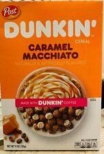 Dunkin' Caramel Macchiato Breakfast Cereal 11 oz