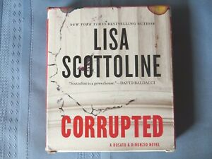 Corrupted  by Lisa Scottoline   Audio Book on CD