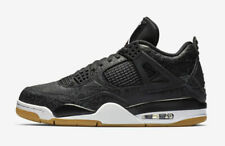 new style ed6ae 7a788 Air Jordan 4 Retro SE Laser Mens Ci1184-001 Black Gum Basketball Shoes Size  11