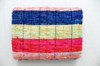 Chindi Rugs Carpet Recycled Bohemian Garden Yoga Mat Indian Kilim Coverlet