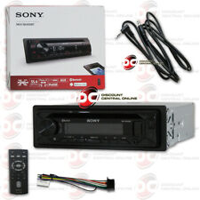 """Sony 1Din Car Fm Aux Cd Usb In Dash Bluetooth Receiver + """"Free"""" 3.5mm Aux Cable"""
