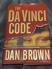 Dan Brown The Da Vinci Code (2003, Hardcover)Inscription & Signed