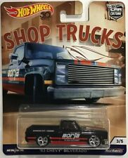 Hot Wheels Shop Trucks '83 Chevy Silverado