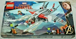 LEGO 76127 CAPTAIN MARVEL AND THE SKRULL ATTACK~Retired Set~New in Sealed Box