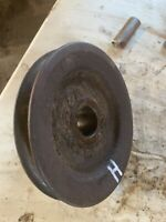Farmall H HV tractor IH engine main front motor crank pulley