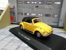 VW Volkswagen 1302 Cabrio gelb yell Käfer 1970 gesch Minichamps Maxichamps 1:43