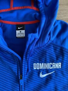 NIKE BASKETBALL DOMINICAN REPUBLIC NATIONAL TEAM ISSUE HOODIE JACKET DOMINICANA