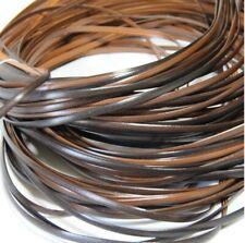 70Meters 500g Coffee Gradient Flat Synthetic Rattan Weaving Material Knit Repair
