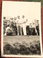 Babe Ruth Original Photo Golfing