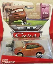 DISNEY PIXAR WORLD OF CARS - RSN- CORA COPPER 6/8 NEW