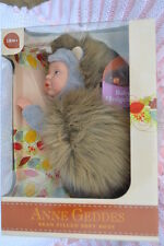 "PJs  ❤ ANNE GEDDES  DOLL  ❤ BABY HEDGEHOG  ❤ 9""/23cm BEAN FILLED COLLECTION NEW"